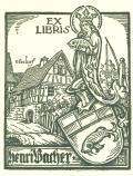 EX LIBRIS Henri Bacher (odkaz v elektronickém katalogu)