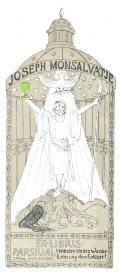 JOSEPH MONSALVATJE EX LIBRIS PARSIVAL (odkaz v elektronickém katalogu)