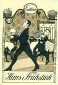Exlibris Hans Frühstück (odkaz v elektronickém katalogu)