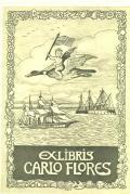 EX-LIBRIS CARLO FLORES (odkaz v elektronickém katalogu)