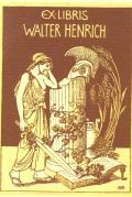EX LIBRIS WALTER HENRICH (odkaz v elektronickém katalogu)