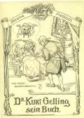 Theater Medizin Dr. Kurt Gelling sein Buch (odkaz v elektronickém katalogu)