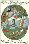 Dies Buch gehört Ruth Burckhard (odkaz v elektronickém katalogu)