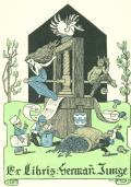 Ex Libris Hermann Junge (odkaz v elektronickém katalogu)