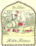 Ex Libris Hilde Krauss (odkaz v elektronickém katalogu)