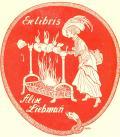 Ex libris Alise Liebman (odkaz v elektronickém katalogu)