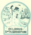 EX LIBRIS Dr. TH. SCHNEEMANN (odkaz v elektronickém katalogu)