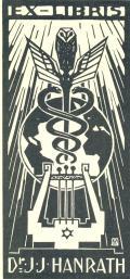 EX-LIBRIS Dr. J.J. HANRATH (odkaz v elektronickém katalogu)