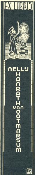EX-LIBRIS NELLU HANRATH VAN OOTMARSUM (odkaz v elektronickém katalogu)