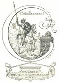 EX LIBRIS DOCTEUR R. CHEVALERIAS (odkaz v elektronickém katalogu)