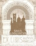 EX LIBRIS ALOYSII ANGELINI (odkaz v elektronickém katalogu)