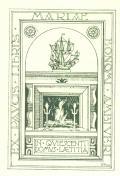 EX PAUCIS LIBRIS MARIAE BONOMI AMBIVERI (odkaz v elektronickém katalogu)