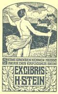 EX LIBRIS H. STEIN (odkaz v elektronickém katalogu)