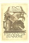 EX LIBRIS FRANCIS BANGE (odkaz v elektronickém katalogu)