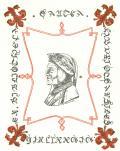 EX BIBLIOTHECA DANTEA H.BURIOT-DARSILES MCMXXI INCH. (odkaz v elektronickém katalogu)