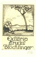 Exlibris Trudel Blöchlinger (odkaz v elektronickém katalogu)