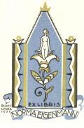 EXLIBRIS NORMA EIGENMANN (odkaz v elektronickém katalogu)