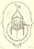 ET MUSICIS  C. ARTHUR RICHTER  EX LIBRIS (odkaz v elektronickém katalogu)