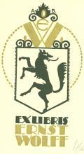 EXLIBRIS ERNST WOLFF (odkaz v elektronickém katalogu)