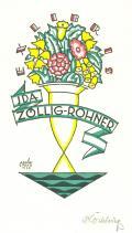 EX LIBRIS IDA ZÖLLIG-ROHNER (odkaz v elektronickém katalogu)