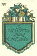 ex libris Emmy Tschudy (odkaz v elektronickém katalogu)
