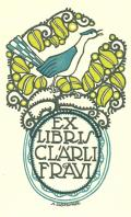 EX LIBRIS CLÄRLI FRAVI (odkaz v elektronickém katalogu)