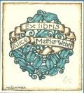 Ex libris Alice Metter Weber (odkaz v elektronickém katalogu)