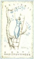 EX LIBRIS BERTI HABISREUTINGER (odkaz v elektronickém katalogu)