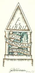 Ex LIBRIS JOSY EIGENMANN MEYERHANS (odkaz v elektronickém katalogu)