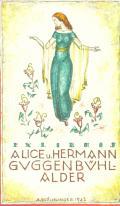 EXLIBRIS ALICE u. HERMANN GUGGENBÜHLALDER (odkaz v elektronickém katalogu)