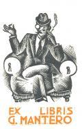 EX LIBRIS G. MANTERO (odkaz v elektronickém katalogu)