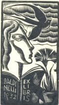 BALDINELLI 1932 EXLIBRIS (odkaz v elektronickém katalogu)