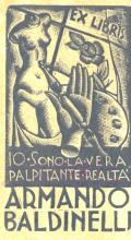 EX LIBRIS ARMANDO BALDINELLI (odkaz v elektronickém katalogu)