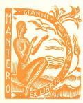 GIANNI EX LIBRIS MANTERO (odkaz v elektronickém katalogu)