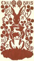 EXLIBRIS FRANZ HAAS (odkaz v elektronickém katalogu)