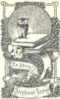Ex libris Stephani Szécsi (odkaz v elektronickém katalogu)