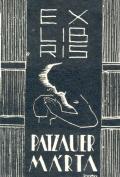 EX LIBRIS PATZAUER MÁRTA (odkaz v elektronickém katalogu)