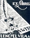 EX LIBRIS LENGYEL VILMA (odkaz v elektronickém katalogu)