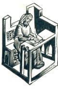[Píšící mnich] (odkaz v elektronickém katalogu)