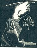 DR.LUSTIG ISTVÁN KÖNYVE (odkaz v elektronickém katalogu)
