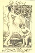 Ex libris Anni Bayer (odkaz v elektronickém katalogu)