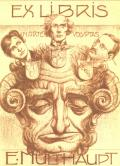 EX LIBRIS E. MULTHAUPT (odkaz v elektronickém katalogu)