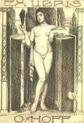 EX LIBRIS O.HOFF (odkaz v elektronickém katalogu)