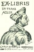 EX-LIBRIS DR. FRANZ ADLER (odkaz v elektronickém katalogu)