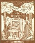 ERIC BÖNINGER BEYER EX LIBRIS (odkaz v elektronickém katalogu)