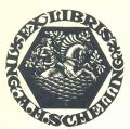 EX LIBRIS  ING. A.H.SCHELLING (odkaz v elektronickém katalogu)