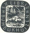 EX LIBRIS B.J.H. DIJKHUIZEN (odkaz v elektronickém katalogu)