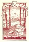 Ex libris H. Beck (odkaz v elektronickém katalogu)