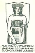 AUS DEN SAMMLUNGEN DES BUCHGEWERBEVEREINS (odkaz v elektronickém katalogu)