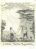 Exlibris Martin Mugrauer (odkaz v elektronickém katalogu)